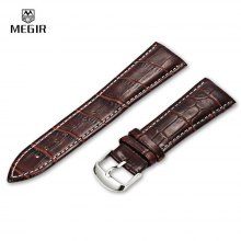 MEGIR 24MM PU Watch Band
