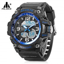 ALIKE AK17145 Dual Movt Sports LED Male Watch
