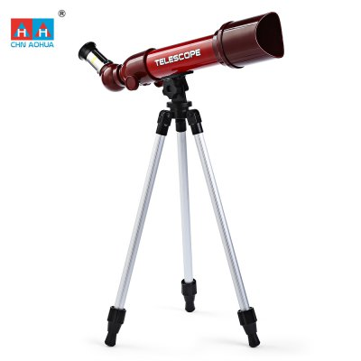 CHN AOHUA 3183 Child Education Astronomy Telescope Toy