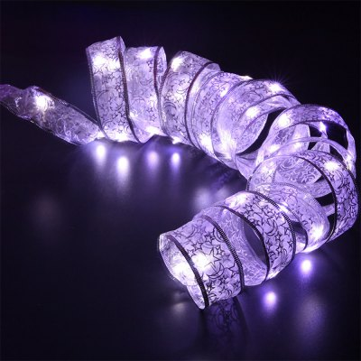 4m 40 LEDs Copper Wire Ribbon Fairy String Light