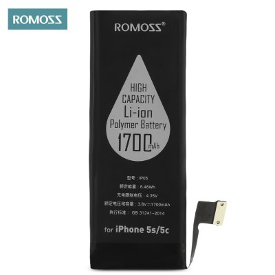 ROMOSS IP05 1700mAh Rechargeable Battery for iPhone 5S / 5C