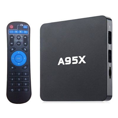 A95X - B7N Android TV Box S905W CPU 2.4GHz WiFi H.265