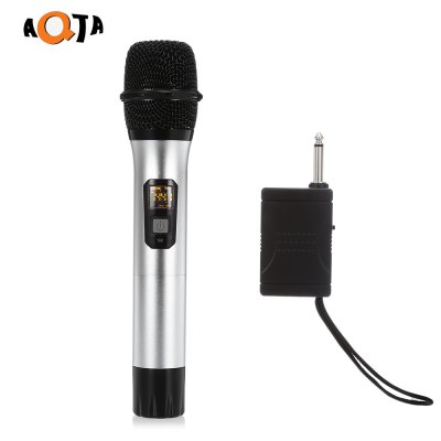 AQTA AT - 301S UHF Wireless Microphone for Recording KTV
