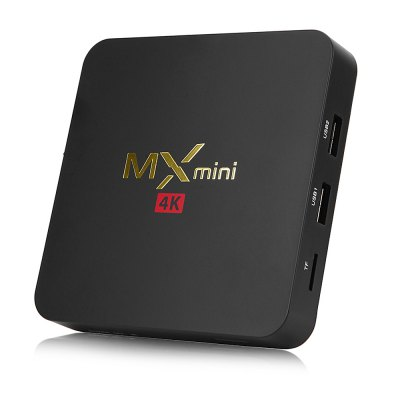 MXMINI Android TV Box Support 2.4GHz WiFi 4K H.265