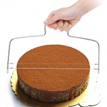 Stainless Steel Double Wire Cake Slicer Leveler