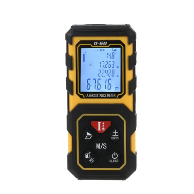 Laser Rangefinder Distance Meter Digital Measure Test Tool