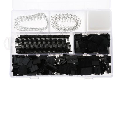 1450pcs Wire Jumper Pin Header Connector Housing Kit Dupont