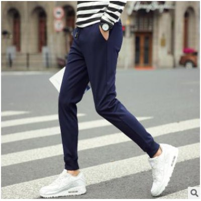 K175sq Autumn New products gadgets Men's Harlan Korean Version Of Beam Trousers Casual Pants
