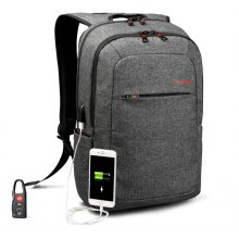 Tigernu Brand External USB Charge Backpack Male Mochila Escolar Laptop Backpack School Bags for Teens