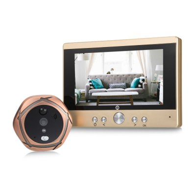 SY501 Rechargeable Digital Peephole Viewer and Doorbell