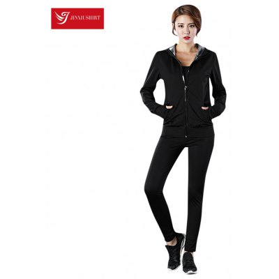 JINXIUSHIRT statsuit Women Top Pants Fitness Sweatsuit