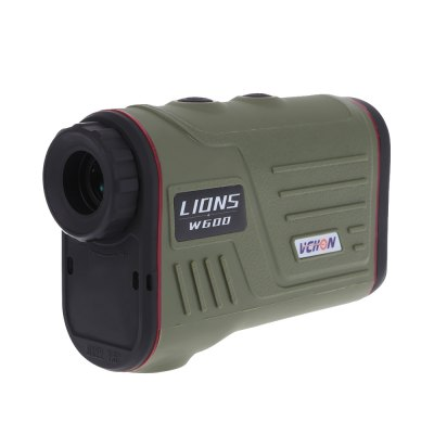 Multifunction 6X Laser Range Finder Monocular Telescope