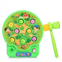 Whac-A-Mole Electric Music Playing Hamster Game Machine for Children