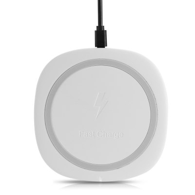 ME105P Qi Fast Wireless Charger for iPhone 8 / X / Samsung S8