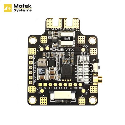 Matek Systems FCHUB - VTX Flight Controller for RC Drone FPV