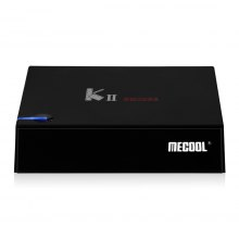 MECOOL KII PRO Android 5.1 S-905 Quad-core 2GB/16GB Dual WIFI DVB-S2 T2 HD Streaming Media Player TV BOX with LED and Heating Vents
