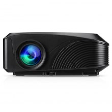 Excelvan LED-4018 Portable 1200 Lumens 800*480 Support 720P 1080P Max 130 Inch Red-blue 3D With HDMI USB VGA AV TF Interfaces For Home Theater Outdoor Movie Traveling