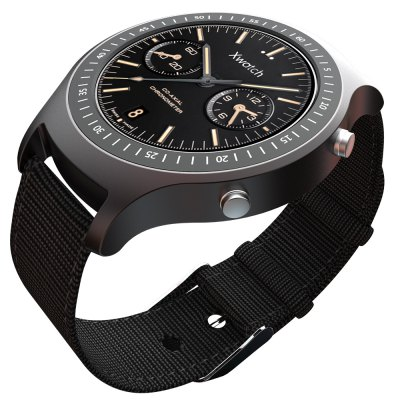 Bluboo Xwatch Sports Smart Watch Android 5.1 Smartwatch - BlubooSmart Watches<br>Bluboo Xwatch Sports Smart Watch Android 5.1 Smartwatch<br><br>Brand: BLUBOO<br>Built-in chip type: MTK2601<br>Bluetooth version: Bluetooth 4.1<br>RAM: 1G<br>ROM: 4G<br>Waterproof: Yes<br>Waterproof Rating : IP67<br>Screen: Sapphire Crystal<br>Screen size: 1.3 inch<br>Battery Capacity: 450mAh<br>People: Unisex watch<br>Shape of the dial: Round<br>Case material: Metal<br>Band material: Genuine Leather<br>Compatible OS: Android<br>Language: English<br>Available color: Black<br>The dial thickness: 1.3 cm / 0.51 inch<br>Dial size: 5.4 x 4.5 x 1.3 cm / 2.13 x 1.77 x 0.51 inch<br>Package size (L x W x H): 12.000 x 10.000 x 8.000 cm / 4.724 x 3.937 x 3.150 inches<br>Product weight: 0.060 kg<br>Package weight: 0.240 kg<br>Package Contents: 1 x Bluboo Xwatch Smart Watch