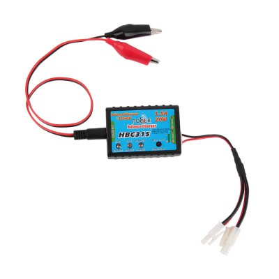 Spare HBC315 1.5A 20W 2S 3S Balance Charger for Multicopter Aircraft Model BatteryMulti Rotor Parts<br>Spare HBC315 1.5A 20W 2S 3S Balance Charger for Multicopter Aircraft Model Battery<br><br>Type: Servo,Charger Set,Charger<br>Package weight: 0.120 kg<br>Package size (L x W x H): 11.500 x 8.000 x 4.000 cm / 4.528 x 3.150 x 1.575 inches<br>Package Contents: 1 x HBC315 Balance Charger