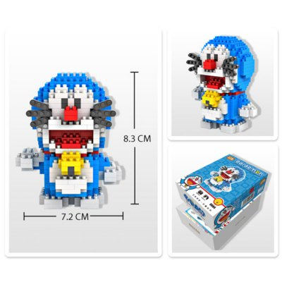 LOZ 310Pcs XXL - 9804 Doraemon Time Machine Building Block Toy for Enhancing Social Cooperation AbilityBlock Toys<br>LOZ 310Pcs XXL - 9804 Doraemon Time Machine Building Block Toy for Enhancing Social Cooperation Ability<br><br>Product Model: XXL - 9804<br>Material: ABS<br>Product prototype: Doraemon<br>Character Name: Doraemon Time Machine<br>Design Style: Figure Statue<br>Features: Movie and TV<br>Puzzle Style: 3D Puzzle<br>Small Parts : Yes<br>Washing: Yes<br>Applicable gender: Boys<br>Battery Type: No<br>Package weight: 0.110 kg<br>Package size (L x W x H): 13.50 x 10.00 x 4.50 cm / 5.31 x 3.94 x 1.77 inches<br>Package Contents: 310 x Module, 1 x User Manual