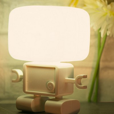 Robot Style Voice Control LED Nightlight
