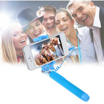 icanany RK-Mini4 Portable Selfie Monopod with Fill-in Flash