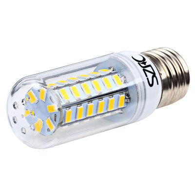 3 x SZFC 5W E27 SMD 5730 460LM LED Corn LightLED Light Bulbs<br>3 x SZFC 5W E27 SMD 5730 460LM LED Corn Light<br><br>Brand: SZFC<br>Holder: E27<br>Type: Corn Bulbs<br>Output Power: 5W<br>Emitter Types: SMD 5730<br>Total Emitters: 48<br>Luminous Flux: 460Lm<br>CCT/Wavelength: 3000K,6000K<br>Voltage (V): AC 220-240<br>Features: Energy Saving,Long Life Expectancy,80% Brightness<br>Function: Home Lighting,Commercial Lighting,Studio and Exhibition Lighting<br>Available Light Color: White,Warm White<br>Sheathing Material: Plastic<br>Product weight: 0.024KG<br>Package weight: 0.118 KG<br>Product size (L x W x H): 9.500 x 3.100 x 3.100 cm / 3.74 x 1.22 x 1.22 inches<br>Package size (L x W x H): 11.000 x 8.000 x 8.000 cm / 4.331 x 3.15 x 3.15 inches<br>Package Contents: 3 x SZFC E27 LED Corn Bulb