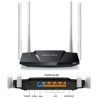 Mercury MW320R Wireless Dual Band Router