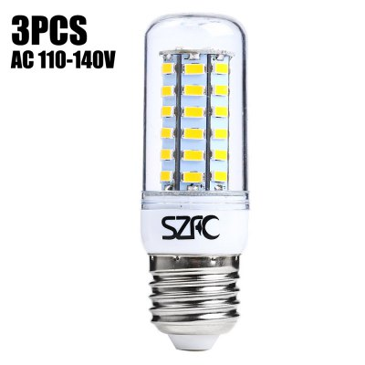 3 x SZFC E27 SMD 5730 5W 460LM LED Corn Light