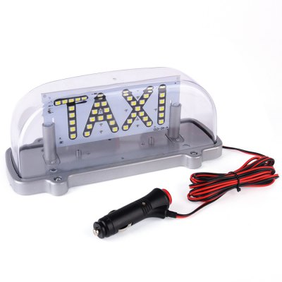 HEXIANG D014W 12V 17.28W Taxi Cab Top Roof Lamp Light