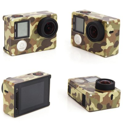 Colorful Skin Protection Sticker for GoPro Hero 4 Action Camera