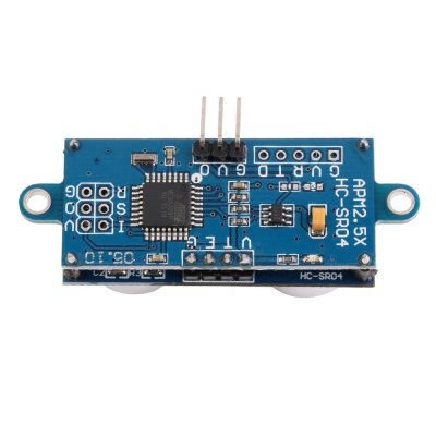 Ultrasonic Distance Finder Transducer Sensor Module Fitting for APM2 2.5 Flight ControllerMulti Rotor Parts<br>Ultrasonic Distance Finder Transducer Sensor Module Fitting for APM2 2.5 Flight Controller<br><br>Type: Module<br>Product weight: 0.000KG<br>Package weight: 0.060 kg<br>Product size (L x W x H): 0.000 x 0.000 x 0.000 cm / 0 x 0 x 0 inches<br>Package size (L x W x H): 11.500 x 8.000 x 1.000 cm / 4.528 x 3.150 x 0.394 inches<br>Package Contents: 1 x Ultrasonic Transducer Module, 1 x Connecting Cable, 2 x Accessory