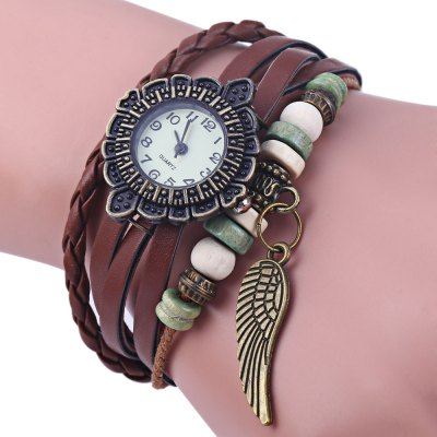 Vintage Ladies Woven Bracelet Quartz Watch