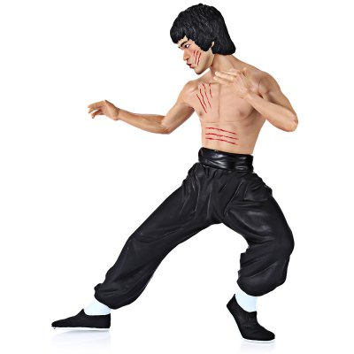 Classic Bruce Lee Characteristic Figure Model FigurineReality Star<br>Classic Bruce Lee Characteristic Figure Model Figurine<br><br>Age: Above 14 years old<br>Material: Plastic,PVC<br>Feature Type: Chinese<br>Package weight: 0.760 kg<br>Package size (L x W x H): 37.50 x 28.50 x 12.50 cm / 14.76 x 11.22 x 4.92 inches<br>Package Contents: 1 x Figure Model