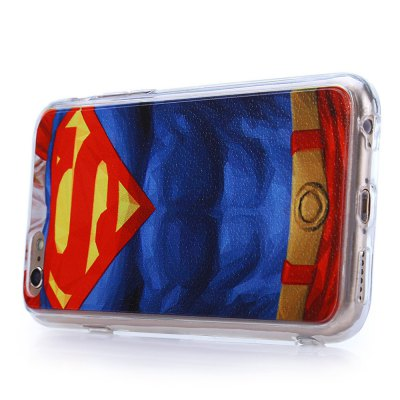 ФОТО Super Man Pattern PVC Protective Back Case for iPhone 6 / 6S