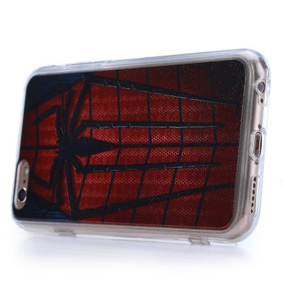 ФОТО Spider Man Pattern PVC Protective Back Case for iPhone 6 / 6S