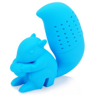 Silicone Squirrel Shape Tea Filter