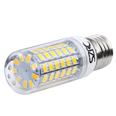 3 x SZFC 6W E27 SMD 5730 560LM LED Corn LightCorn Bulbs<br>3 x SZFC 6W E27 SMD 5730 560LM LED Corn Light<br><br>Available Light Color: White,Warm White<br>Brand: SZFC<br>CCT/Wavelength: 3000K,6000K<br>Emitter Types: SMD 5730<br>Features: 80% Brightness, Long Life Expectancy, Energy Saving<br>Function: Studio and Exhibition Lighting, Commercial Lighting, Home Lighting<br>Holder: E27<br>Luminous Flux: 560Lm<br>Output Power: 6W<br>Package Contents: 3 x SZFC E27 LED Corn Bulb<br>Package size (L x W x H): 11.000 x 8.000 x 8.000 cm / 4.331 x 3.15 x 3.15 inches<br>Package weight: 0.127 KG<br>Product size (L x W x H): 9.500 x 3.100 x 3.100 cm / 3.74 x 1.22 x 1.22 inches<br>Product weight: 0.032KG<br>Sheathing Material: Plastic<br>Total Emitters: 69<br>Type: Corn Bulbs<br>Voltage (V): AC 220-240