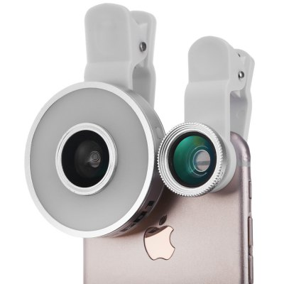 6-in-1 LED Mobilephone Lens Kit
