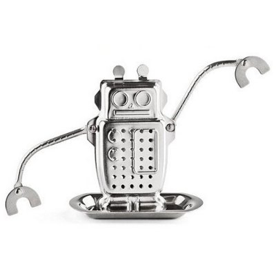 Stainless Steel Robot Shape Tea Filter