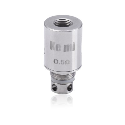 5pcs Original Coil Head for KEMI TankAccessories<br>5pcs Original Coil Head for KEMI Tank<br><br>Accessories type: Atomizer Heater Core<br>Available Color: Silver<br>Material: Copper<br>Package Contents: 5 x 0.5ohm Copper Heater Core<br>Package size (L x W x H): 6.000 x 3.600 x 2.100 cm / 2.362 x 1.417 x 0.827 inches<br>Package weight: 0.021 KG<br>Product size (L x W x H): 2.000 x 1.100 x 1.100 cm / 0.787 x 0.433 x 0.433 inches<br>Product weight: 0.015KG<br>Resistance : 0.5ohm<br>Type: Electronic Cigarettes Accessories