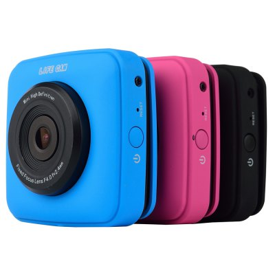 G2 LIFE CAM 720P Pixels Mini Sports Action CameraAction Cameras<br>G2 LIFE CAM 720P Pixels Mini Sports Action Camera<br><br>Audio System: Built-in microphone/speacker (AAC)<br>Battery Type: Built-in<br>Camera Pixel : 1.3MP<br>Capacity (mAh): 400mAh<br>Charge way: USB<br>Chipset: SUI<br>Chipset Name: SUI<br>Class Rating Requirements: Class 10 or Above<br>Image Format : JPG<br>Image resolution: 1M (1280?720)<br>Image Sensor: 1.3MP CMOS<br>Interface Type: SD Card Slot, External storage card slot, Micro USB<br>Language: English<br>Loop-cycle Recording : Yes<br>Max External Card Supported: SD 32G (not included)<br>Model: G2<br>Package Contents: 1 x G2 Action Camera, 1 x 2.4G RF Remote Controller, 1 x USB Cable, 1 x Velcro Fixed Strap, 1 x English User Manual<br>Package size (L x W x H): 24.600 x 17.400 x 4.700 cm / 9.685 x 6.850 x 1.850 inches<br>Package weight: 0.247 kg<br>Power Supply: Built-in rechargeable battery<br>Product size (L x W x H): 5.700 x 5.500 x 2.600 cm / 2.244 x 2.165 x 1.024 inches<br>Product weight: 0.050 kg<br>System requirements: Windows 2000 / XP / Vista<br>Type: Sports Camera<br>USB Function: USB-Disk<br>Video format: AVI<br>Video Frame Rate: 30FPS<br>Video Output : AV-Out<br>Video Resolution: 720P (1280 x 720),VGA (640 x 480)<br>Video System: PAL<br>Working Time: 1 hour approx.