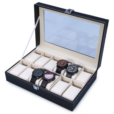 12 Grids Watch Display Case