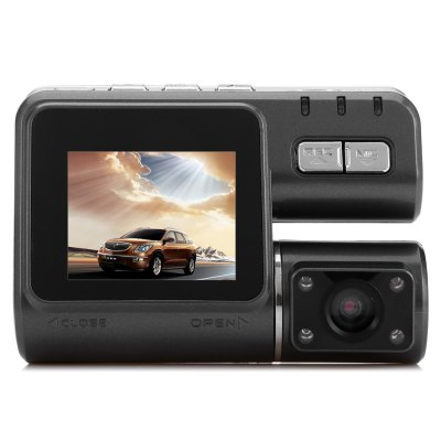 I1000 HD 720P 1.77 inch LCD Screen 0.3MP Car DVR RecorderCar DVR<br>I1000 HD 720P 1.77 inch LCD Screen 0.3MP Car DVR Recorder<br><br>Model: I1000<br>Type: HD Car DVR Recorder<br>Chipset Name: Generalplus<br>Max External Card Supported: TF 32G (not included)<br>Class Rating Requirements: Class 10 or Above<br>Screen size: 1.77 inch<br>Battery Type: Built-in<br>Capacity: 250mAh<br>Power Supply: DC 5V<br>Charge way: Car charger<br>Wide Angle: 120 degree wide angle<br>Image Sensor : CMOS<br>Camera Lens : OV7670<br>Camera Pixel : 0.3MP<br>Special function: Loop recording,Cycle Recording,Microphone,Time and date display,Photograph,Exposure control,Auto power on/off<br>Decode Format: H.264<br>Video format: MOV<br>Video Resolution: 720P (1280 x 720),VGA (640 x 480)<br>Video Frame Rate  : 720P at 30fps, VGA at 30fps<br>Image Format : JPEG<br>Image resolution : 1.3M (1280 x 960)<br>Audio System : Built-in microphone/speacker (AAC)<br>Exposure Compensation: -2,-5/3,-4/3,-2/3,-1.3,+4/3,+5/3,+2,+1/3,-1/3,2/3<br>Loop-cycle Recording : Yes<br>Loop-cycle Recording Time: OFF,10min,1min,3min,5min<br>Delay Shutdown : Yes<br>Time Stamp: Yes<br>Interface Type  : Micro USB,TF Card Slot,Mini HDMI<br>Language: Simplified Chinese,Traditional Chinese,English,French,Spanish,Portuguese,Russian,German,Italian,Japanese,Korean<br>Product weight: 0.067 kg<br>Package weight: 0.290 kg<br>Product size (L x W x H): 9.000 x 6.400 x 3.000 cm / 3.543 x 2.520 x 1.181 inches<br>Package size (L x W x H): 16.000 x 13.000 x 10.000 cm / 6.299 x 5.118 x 3.937 inches<br>Package Contents: 1 x I1000 HD 720P Car DVR, 1 x Bracket, 1 x Car Charger (Cable Length about 3m), 1 x USB Cable, 1 x English / Chinese User Manual