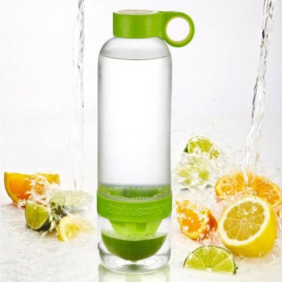Portable Plastic Lemon Bottle