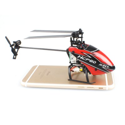 HISKY HCP60 2.4G 6 Channel 6 Axis Gyro Lightweight Helicopter with H - 6 Transmitter Ready-to-fly от GearBest.com INT