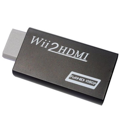 Full HD 1080P Wii to HDMI Wii2HDMI Converter