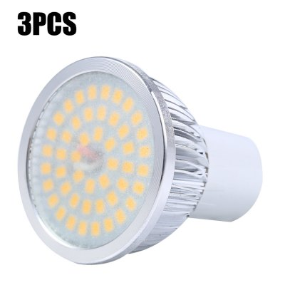 3pcs SZFC GU10 4W 48 x SMD 2835 460LM LED Spot Light - Frosted