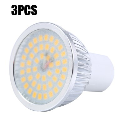 3pcs SZFC GU5.3 4W 48 x SMD 2835 460LM LED Spot Light - Frosted