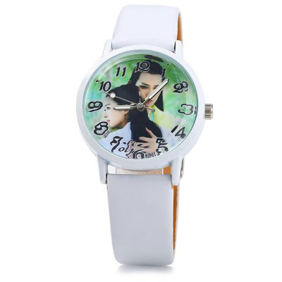 OLJ A2637 Fashional Lover Pattern Women Quartz WatchWomens Watches<br>OLJ A2637 Fashional Lover Pattern Women Quartz Watch<br><br>Brand: OLJ<br>Watches categories: Female table<br>Available color: Blue,Green,Yellow,Plum,Black,White<br>Style: Fashion&amp;Casual<br>Movement type: Quartz watch<br>Shape of the dial: Round<br>Display type: Analog<br>Case material: Stainless Steel<br>Band material: Leather<br>Clasp type: Pin buckle<br>The dial thickness: 0.6 cm / 0.24 inches<br>The dial diameter: 3.3 cm / 1.3 inches<br>The band width: 1.4 cm / 0.55 inches<br>Wearable length: 16.5 - 20 cm / 6.50 - 7.87 inches<br>Product weight: 0.024 kg<br>Package weight: 0.054 kg<br>Product size (L x W x H): 23.000 x 3.300 x 0.600 cm / 9.055 x 1.299 x 0.236 inches<br>Package size (L x W x H): 24.000 x 4.300 x 1.600 cm / 9.449 x 1.693 x 0.630 inches<br>Package Contents: 1 x OLJ A2637 Watch